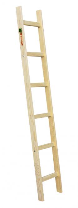 Приставные деревянные лестницы