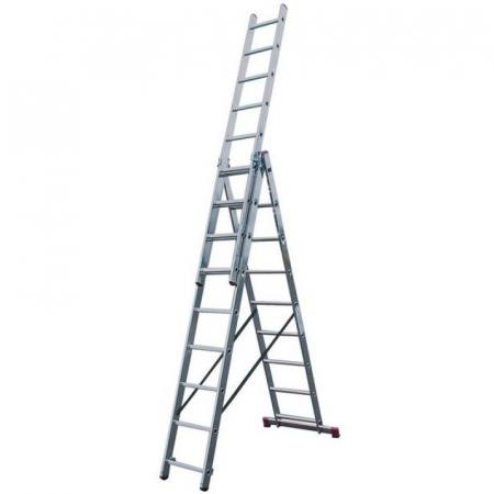 KRAUSE Corda Универсальная лестница 3Х9 ступ. (арт. 010391)