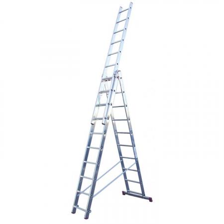 KRAUSE Corda Универсальная лестница 3Х10 ступ. (арт. 010407)