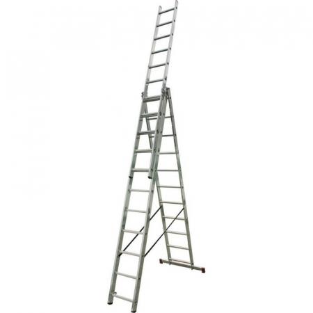 KRAUSE Corda Универсальная лестница 3Х11 ступ. (арт. 010421)