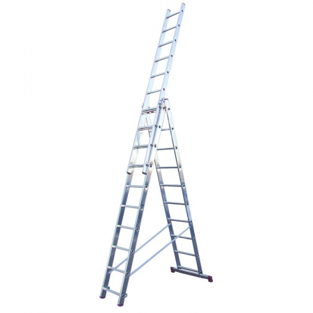 Corda алюминиевая лестница с доп. функцией 3Х10 ступ.