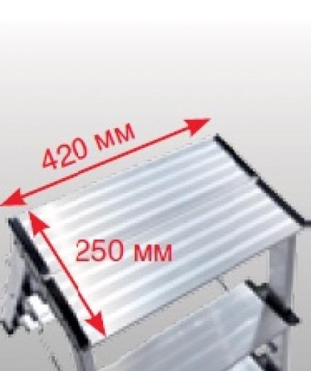 Treppo двусторонняя складная подставка 2X3 широкие ступени