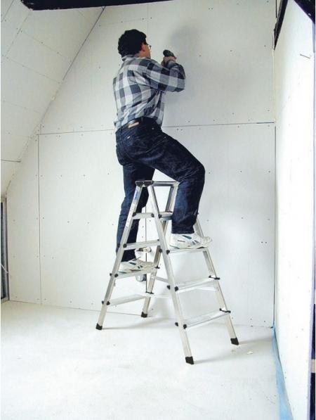 Лестница-стремянка двухсторонняя Dopplo 2X8 ступ.