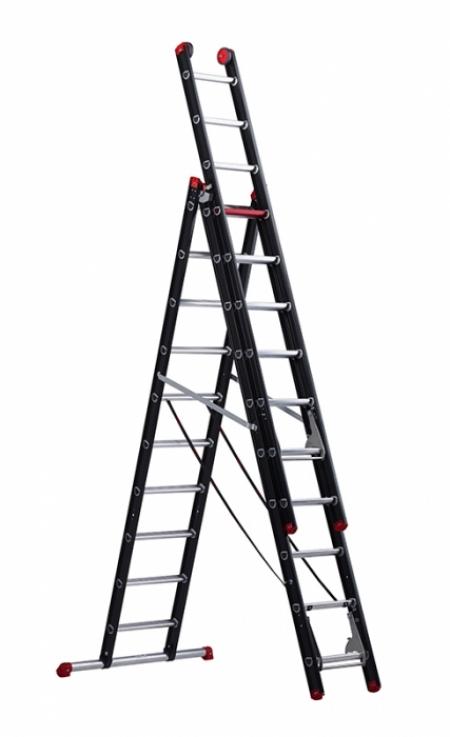 Лестница Altrex Mounter 3X10 с анодированием