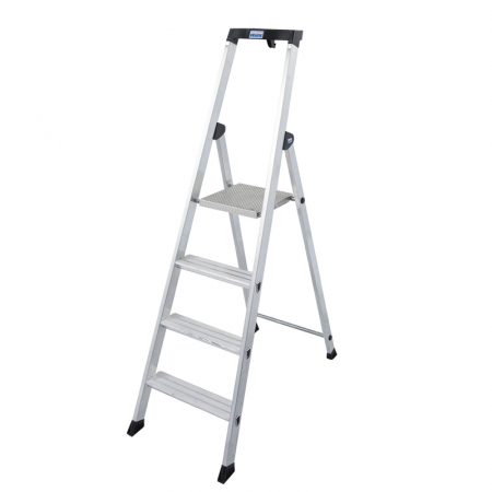 KRAUSE Solido Алюминевая стремянка 4 ступ. (арт. 126634)