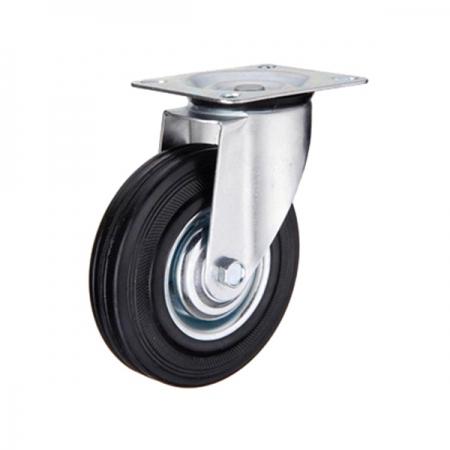 Промышленная поворотная колесная опора серии SС - 200 мм. (арт. 520200)