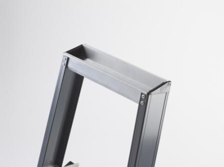Cтремянка анодированная Falco (FEO), 8 ступеней