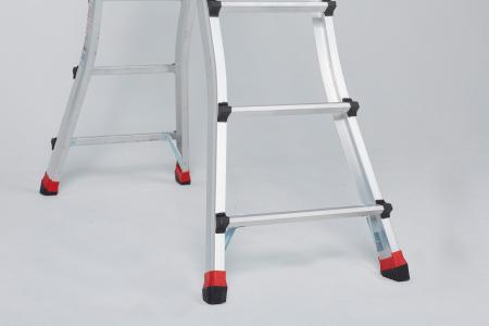 Шарнирная лестница-трансформер Altrex Varitrex Teleprof 4X4