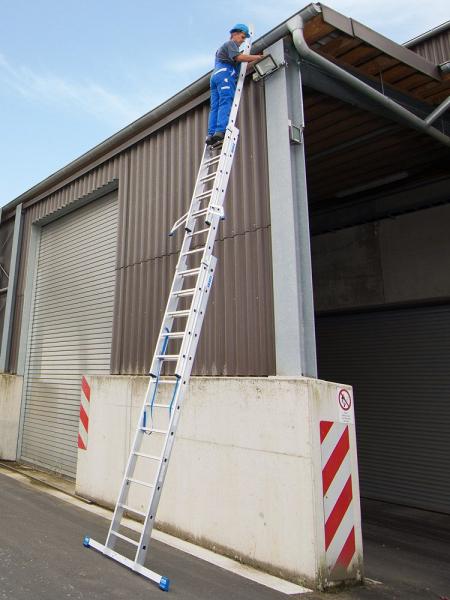 Профессиональная 3-секционная лестница 3x12 Stabilo Krause