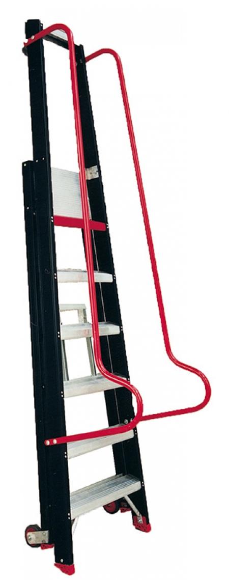 TAURUS TME Алюминевая стремянка с поручнем 9 ступ. (арт. 193209)