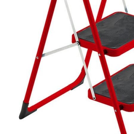 Стремянка Framar Major 3 ступени красная
