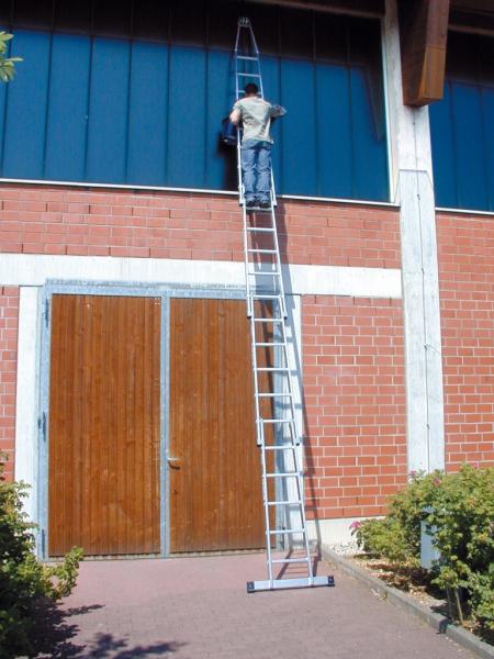 KRAUSE Лестница для мытья стекол 4 секции (арт. 802231)