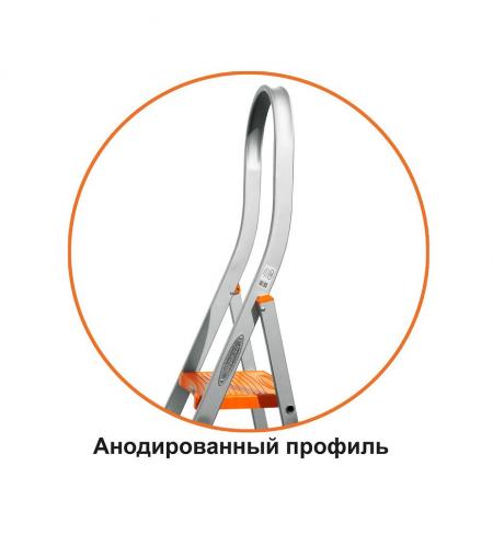 """Лестница стремянка Эйфель """"Триумф"""" 6 ступеней"""