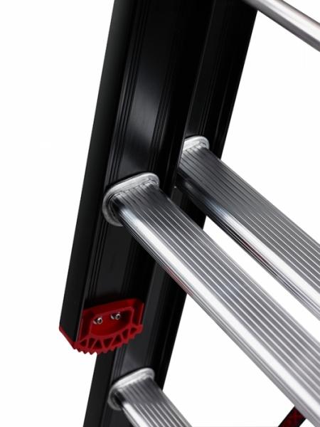 ALTREX Mounter Лестница с анодированием 3X14 ступ. (арт. 123614)