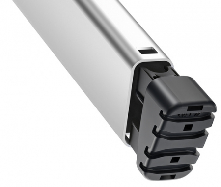 Стремянка алюминиевая Hailo L60 7 ступеней EasyClix