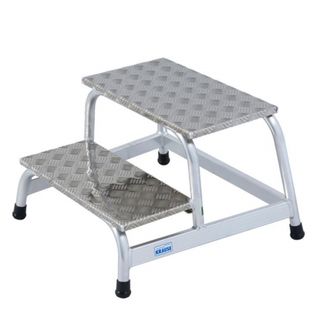 KRAUSE Алюминиевая монтажная подставка 2 ступ. (арт. 805027)