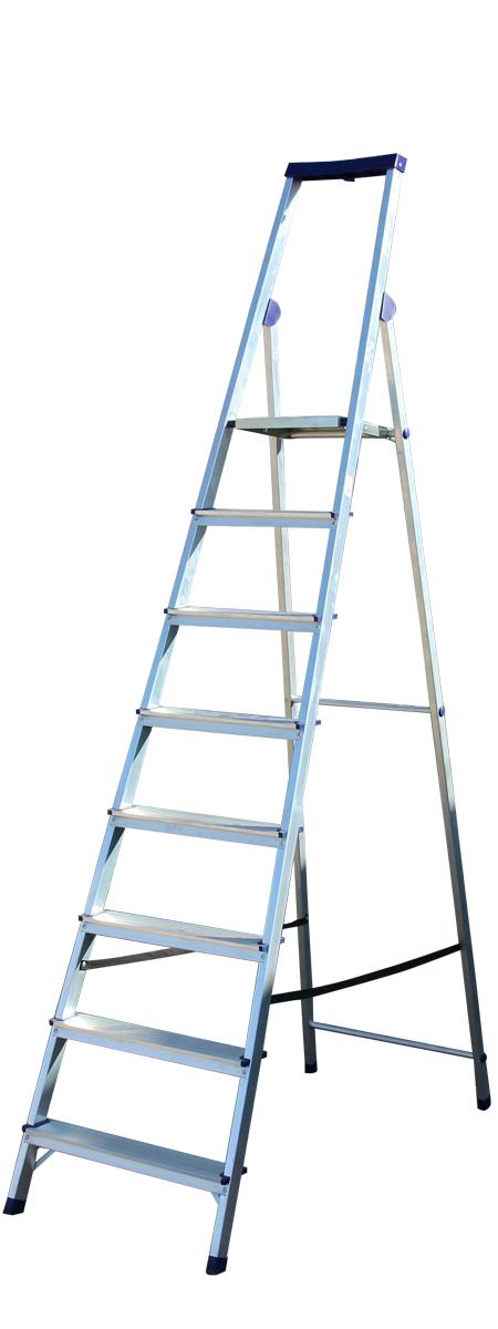 Алюминиевая стремянка Stairs Люкс 8 ступеней