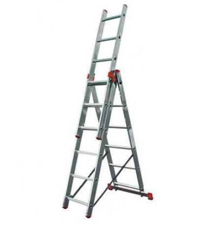 Универсальная 3-секционная лестница 3x6 Tribilo Krause