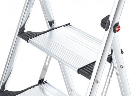 Стремянка алюминиевая Hailo K100 2 ступени TopLine