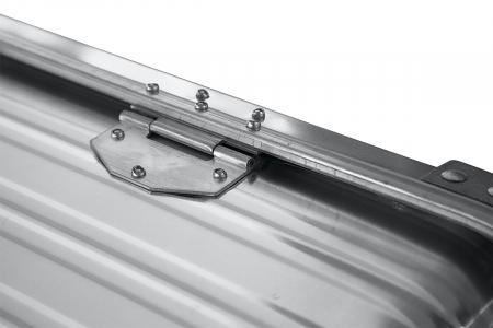 Ящик алюминевый РИФ L157 усиленный с замком
