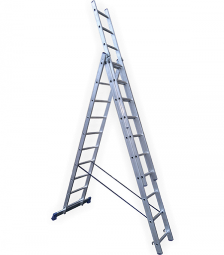 STAIRS Универсальная трехсекционная лестница 3х10 ступ. (арт. AL310)