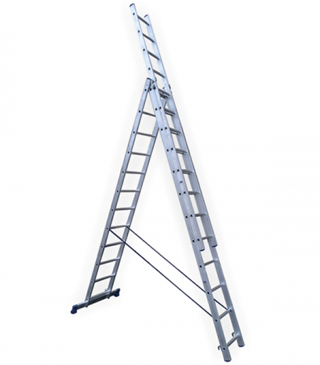 STAIRS Универсальная трехсекционная лестница 3х13 ступ. (арт. AL313)