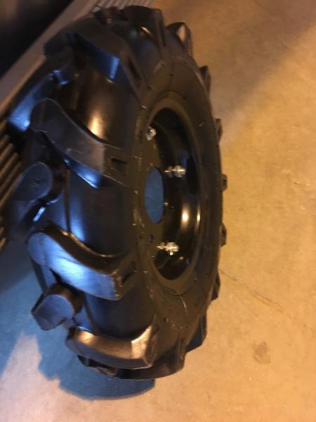 Пневматическое колесо для мотоблока 4.00-10 ( d 450)