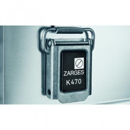 Алюминиевый ящик Zarges К 470 27 л арт. 40677
