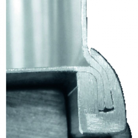 Алюминиевый ящик Zarges К 470 73 л арт. 40564