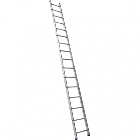 ALUMET Лестница широкая приставная односекционная 16 ступ. (арт. 6116)