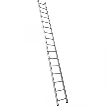 Лестница широкая приставная односекционная 18 ступ.