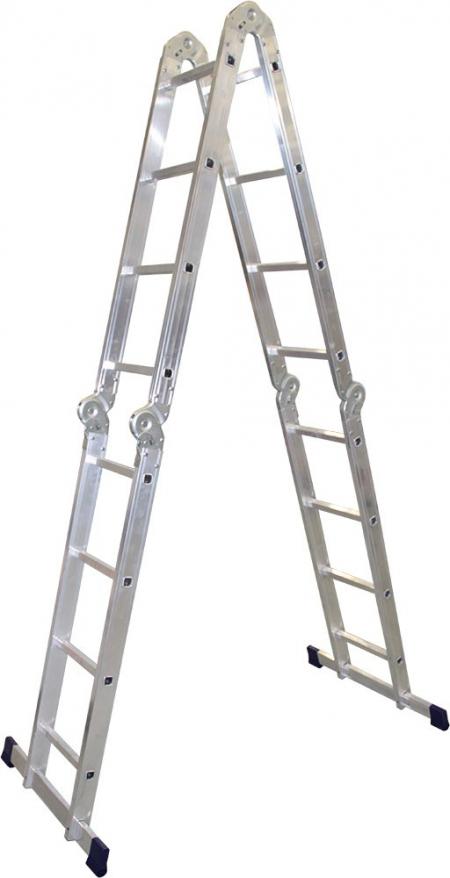 Алюминиевая лестница-трансформер 4х4 Stairs