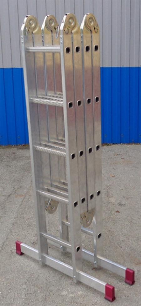 Шарнирная универсальная стремянка-трансформер Corda 5Х4+4Х5 (арт. 085078)