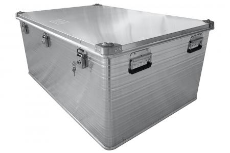 Ящик алюминевый РИФ L415 усиленный с замком