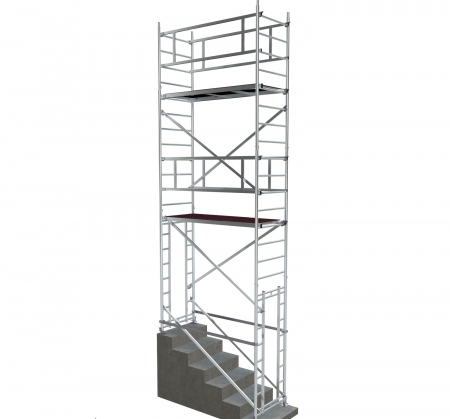 Вышка модульная алюминиевая ВМА 700 П/6