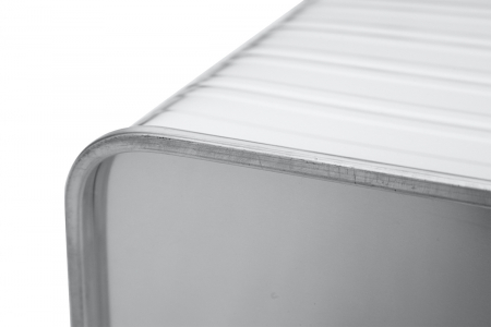 Ящик алюминиевый РИФ L91 усиленный с замком