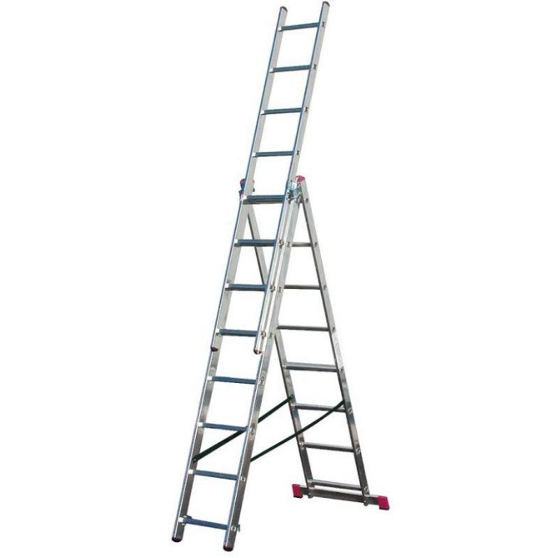 KRAUSE Corda Универсальная лестница 3Х8 ступ. (арт. 010384)
