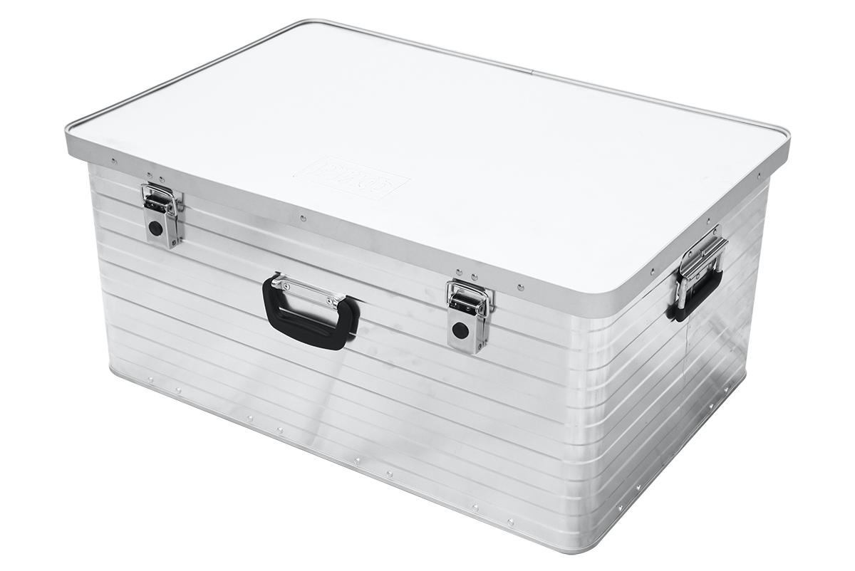Ящик алюминевый РИФ L133 усиленный с замком