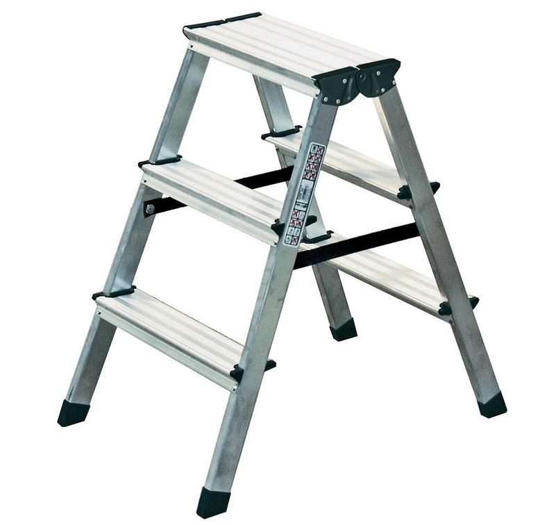 Лестница-стремянка двухсторонняя Dopplo 2X3 ступ.