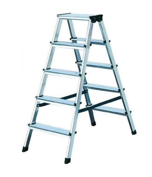 KRAUSE Dopplo Лестница-Стремянка двухсторонняя 2Х5 ступ. (арт.120342)