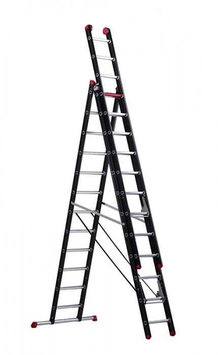 Лестница Altrex Mounter 3X14 с анодированием