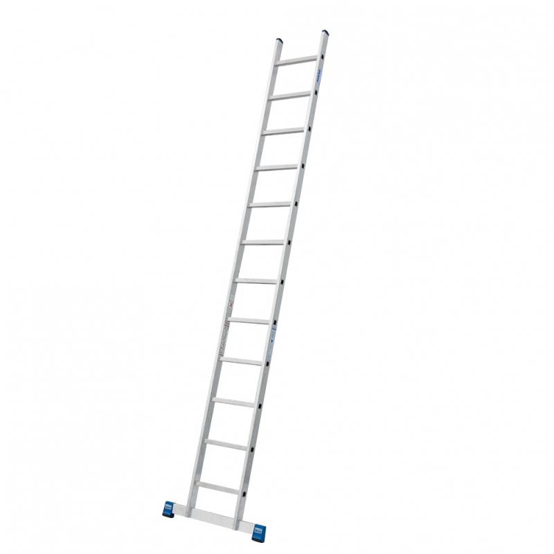 Профессиональная приставная лестница 12 перекладин Krause Stabilo