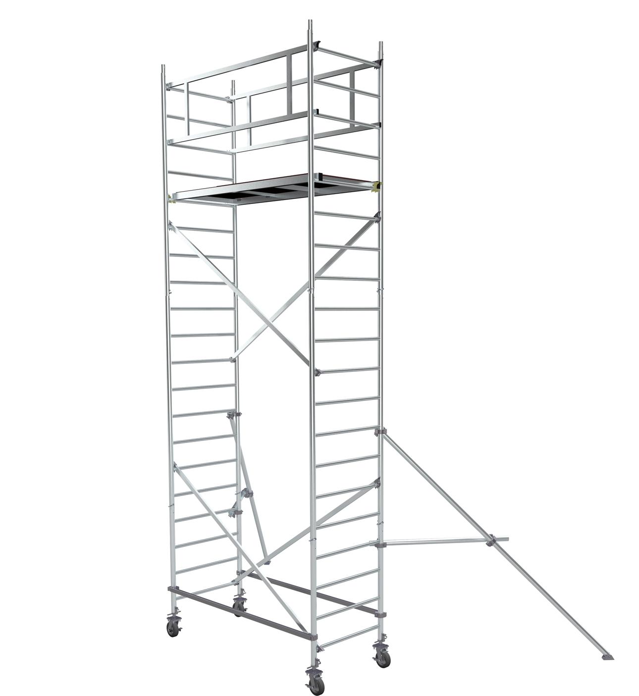 Вышка строительная алюминиевая ВМА 700/6