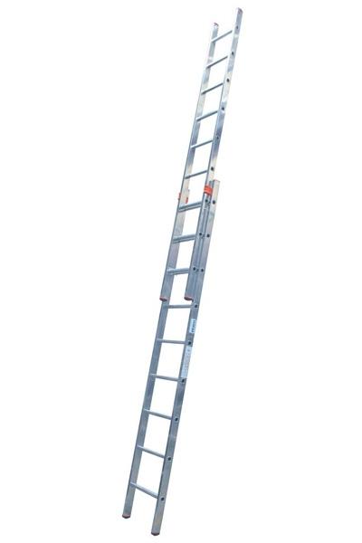 KRAUSE Fabilo Двухсекционная выдвижная лестница 2Х18 ступ. (арт. 121394)