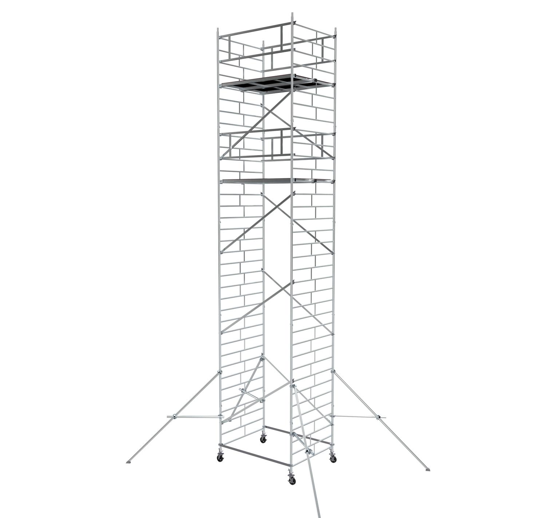 Вышка модульная алюминиевая ВМА 1400/10