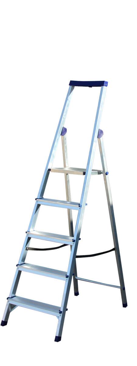STAIRS Люкс Алюминиевая стремянка 5 ступ. (арт. AS05LX)