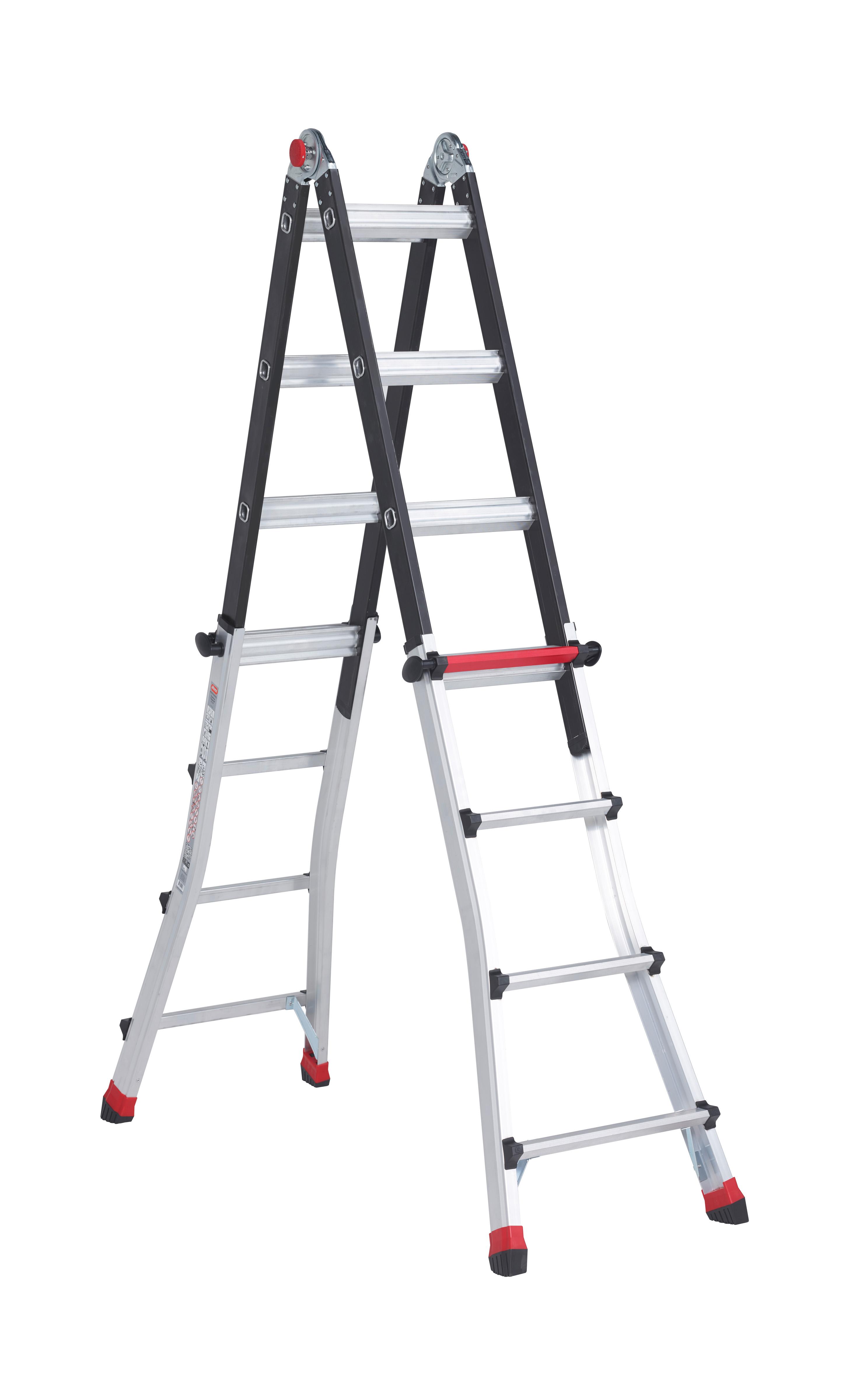 Шарнирная лестница-трансформер Altrex Varitrex Teleprof 4X5