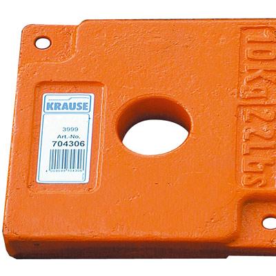 KRAUSE Балластный грузик 10 кг к передвижным подмостям (арт. 704306)