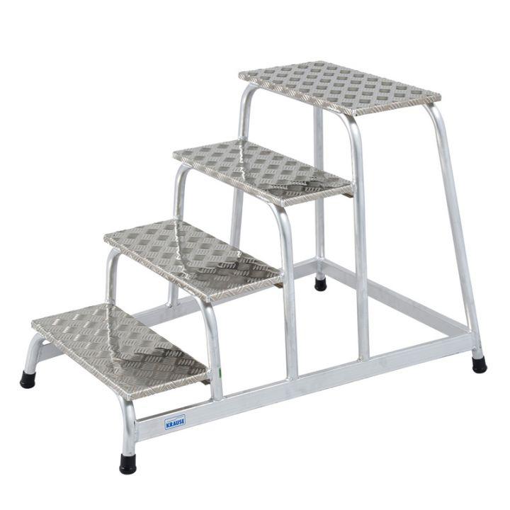 KRAUSE Алюминиевая монтажная подставка 4 ступ. (арт. 805041)