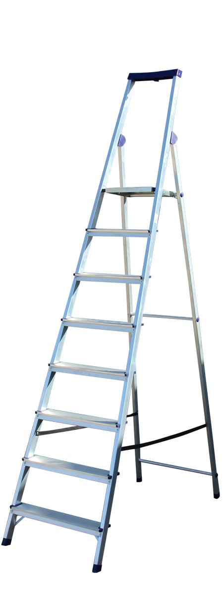 STAIRS Люкс Алюминиевая стремянка 8 ступ. (арт. AS08LX)